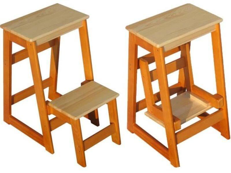Стремянка из стула своими руками